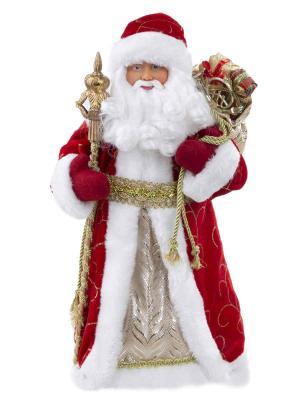 Декоративная кукла ФЕНИКС ПРЕЗЕНТ Дед Мороз в красном костюме 30,5 см - купить с доставкой в Апельсине в Рязани!